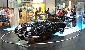 Gunnar Ljungström - Saab 92001 prototype, developed 1945-1949.