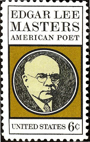 Edgar Lee Masters - Image: Usstamp edgar lee masters