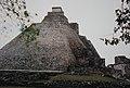 Uxmal Pyramid of the Magician (9785450426).jpg