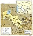 Uzbekistan 1995 CIA map.jpg