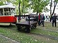 Výstaviště Holešovice, historické tramvaje 2015, vozík 6006.jpg