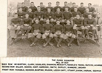 1920 VMI Keydets football team - Image: VMI Keydets (1920 team picture)