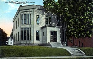 Valparaiso University School of Law - Northern Indiana Law School, Valparaiso University, circa 1910 (Photograph courtesy of the S. Shook Collection)