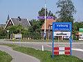 Valburg (Overbetuwe) Welkomstbord.JPG