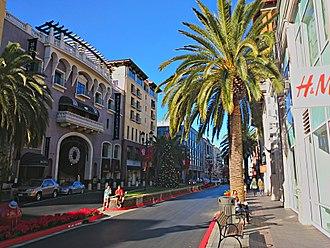 Santana Row - Image: Valencia Hotel, Santana Row