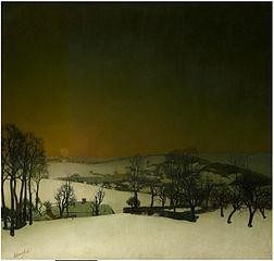 Snow in Flanders