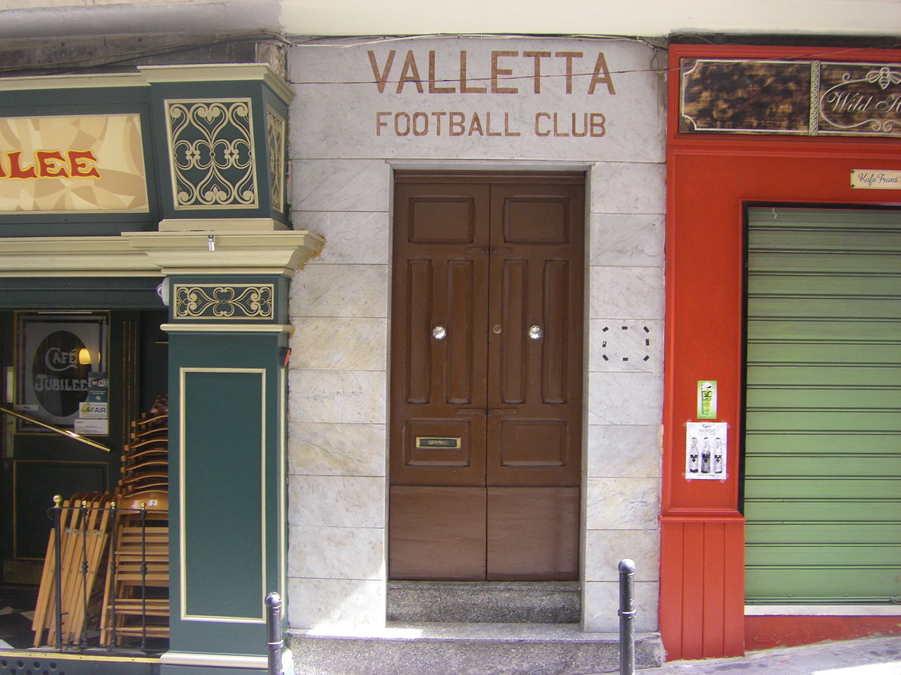 Dateivalletta Fc Entrance To Club Officejpg Wikipedia