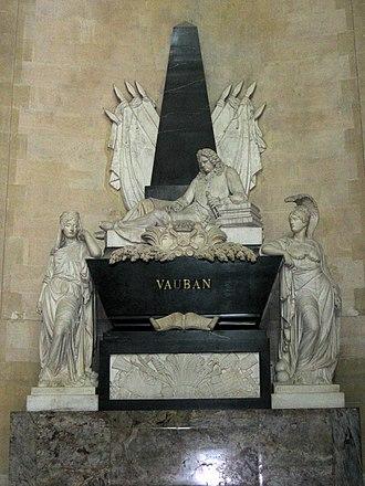 Sébastien Le Prestre de Vauban - Vauban's mausoleum in Les Invalides