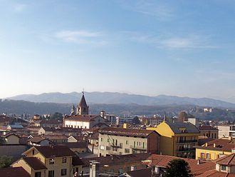 Borgomanero - Image: Veduta di Borgomanero