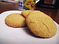 Vegan Lemon Cornmeal Cookies (7057274851).jpg