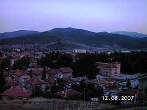 Velingrad at dusk.JPG