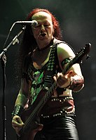 "Venom, Conrad ""Cronos"" Lant at Party.San Metal Open Air 2013 14.jpg"
