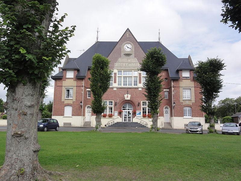 Vermand (Aisne) mairie