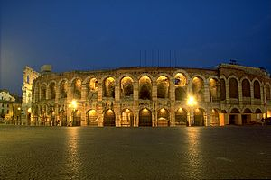 Arena of Verona, Italy