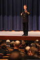 Vice Chief of U.S. Naval Operations Adm. Mark Ferguson speaks to students, staff and faculty of the U.S. Naval War College in Newport, R.I., Jan. 14, 2014 140114-N-PX557-129.jpg