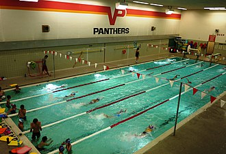 Victoria Park Collegiate Institute - The school premises include a swimming pool, which is available for use by local swimming clubs in the neighbourhood.