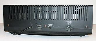 VideoBrain Family Computer - Image: Video Brain Home Computer Back Panel