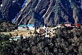 View of Tengboche from Phortse on the way to Pheriche Nepal.jpg