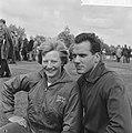 Vijf- en Tienkamp in Vlaardingen Mary Peters uit Belfast en Eef Kamerbeek , de , Bestanddeelnr 915-2868.jpg