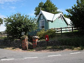 Village Hall, Llanddewi Skirrid - geograph.org.uk - 215799.jpg