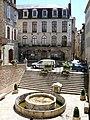 Villefranche-de-Rouergue - Place de la Fontaine -1.JPG