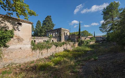 Villeneuvette, Hérault, France.