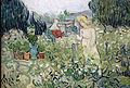 Vincent Van Gogh, mademoiselle gachet nel suo giardino ad auvers-sur-oise, 1890, 02.JPG