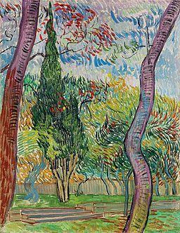 Vincent Van Gogh - Parc de l'hôpital Saint-Paul