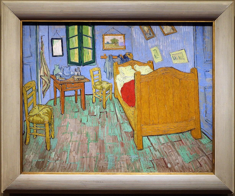 File Vincent Van Gogh La Camera Da Letto 1889 01 Jpg Wikimedia Commons