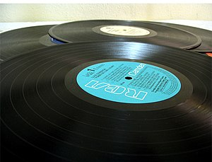 vinyl 33rpm gramaphone records.