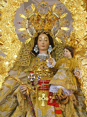 Virgin of Los Remedios - Our Lady of Los Remedios, Fregenal de la Sierra, Badajoz, Spain