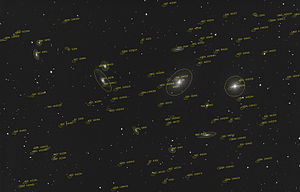 Virgo Cluster - Virgo Cluster of galaxies
