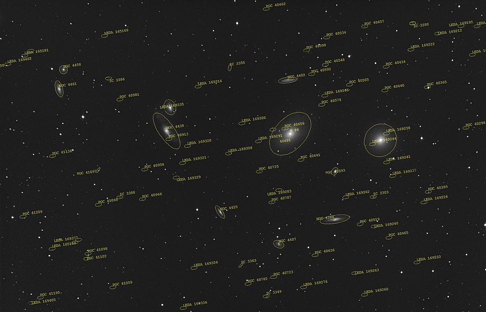 Virgo cluster 052012 overlay