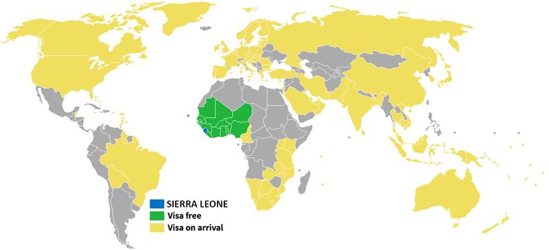 Visa policy of Sierra Leone Wikipedia
