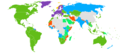 Visa requirements for the Norwegian citizens.png