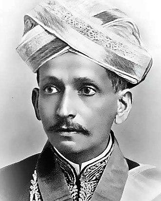 M. Visvesvaraya - Image: Vishveshvarayya in his 30's