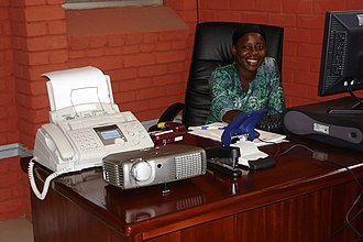 Tamale, Ghana - Tamale Metropolitan District Mayor–Council Government Office and Secretary