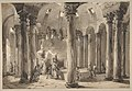 Visitors with Torches Inside a Circular Building MET DP811924.jpg