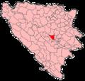 Visoko Municipality Location.png