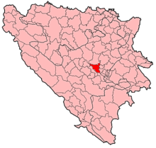 Visoko Municipality Location.png