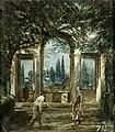 Vista del jardín de Villa Medici en Roma.jpg
