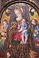 Vittore crivelli, madonna col bambino e santi francescani, 1481, 03.JPG