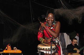 Vivalda Dula Angolan singer-songwriter and percussionist