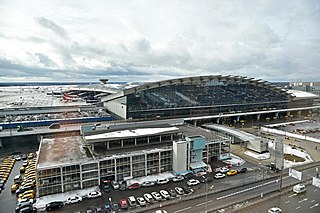 Vnukovo International Airport international airport serving Moscow, Russia