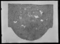 Vojlock av numera grå, ursprungligen vit filt. Bakre kanten rundad, främre kanten rak - Livrustkammaren - 43444.tif