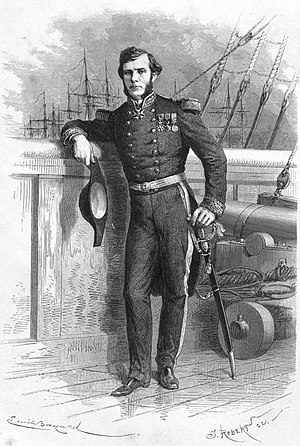 Ernest Doudart de Lagrée - Ernest Doudart de Lagrée, from Voyage d'exploration en Indo-Chine