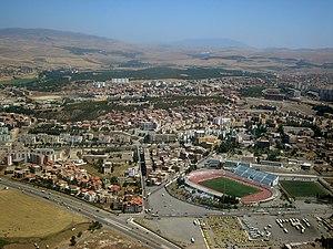 Setifis - Image: Vue aérienne de Sétif (Algérie)