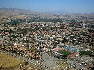 Setif Province - Image: Vue aérienne de Sétif (Algérie)