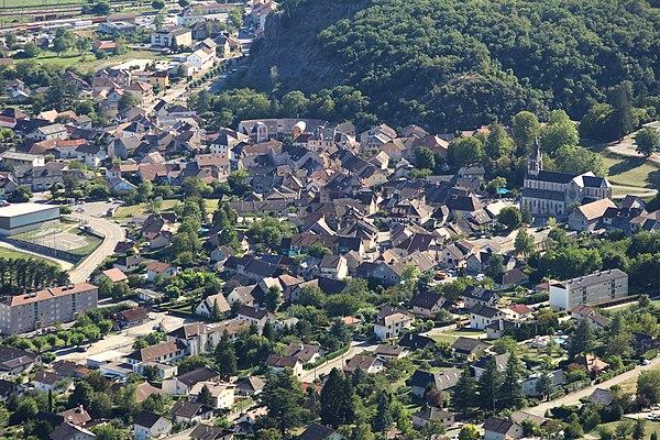 Photo de la ville Culoz