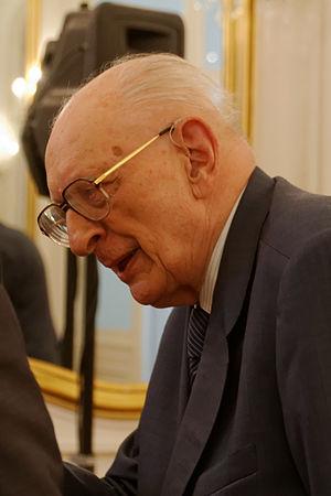 Władysław Bartoszewski - Budapest, 2013